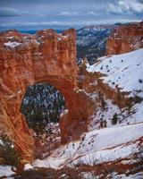 Winter in Bryce Canyon foto
