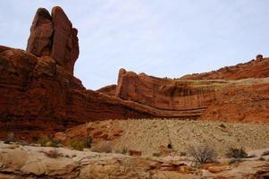 rote Felsen im amerikanischen Südwesten foto