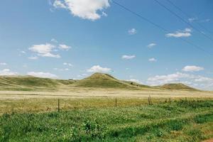 Hügel in Süd-Dakota foto