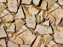 Nahaufnahme von Steinen oder Felsen für Hintergrund oder Textur foto