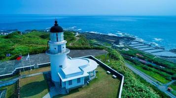 Taiwan 2018 - Sandiao Kap Leuchtturm foto