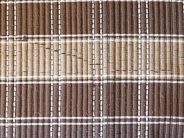 Patch aus gestreiftem Teppich für Hintergrund oder Textur foto