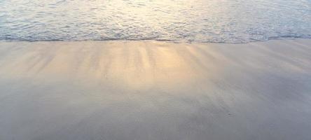 Meereswellen am Strand