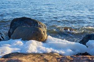 Eis auf der Ostsee foto