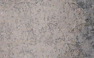 alte graue Vintage schäbige Patchworkfliesen Stein Beton Zementwand Textur Hintergrund Banner foto