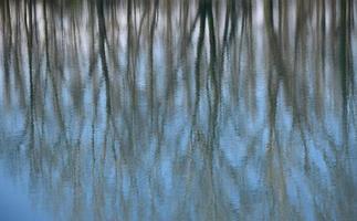 Reflexionen über Wasser foto