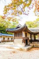 Changdeokgung Palast in Seoul Stadt, Südkorea foto