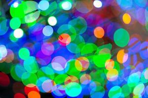 abstrakter Hintergrund und Textur von Bokeh glitzernden Lichtern foto
