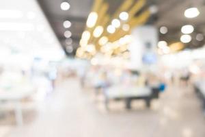 abstrakte Unschärfe und Bokeh Einkaufszentrum und Einzelhandelsgeschäft foto