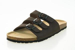 Herren Ledersandale und Flip Flop Schuhe foto