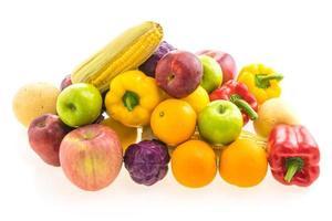 Gemüse und Früchte foto