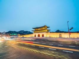 Gyeongbokgung Palast, Seoul Stadt in Südkorea
