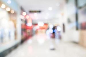 abstrakte Unschärfe Superstore und Einkaufszentrum