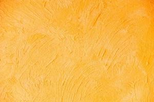 orange Betonwand