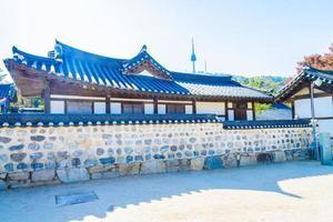 namsangol hanok dorf in seoul, südkorea