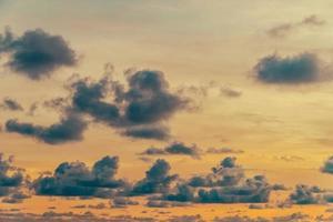 Wolke am Himmel foto