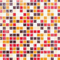 bunte Mosaikfliesen