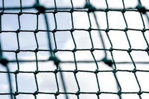 Netz gegen den Himmel foto