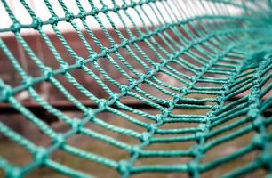 grünes Seilnetz foto