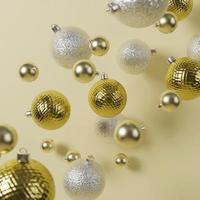 schöne Weihnachtshintergrundanordnung foto