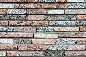 bunte Backsteinmauer Textur