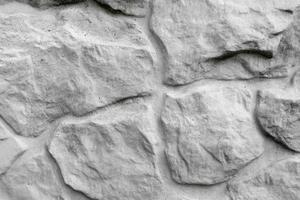 grauer Steinmauerhintergrund. natürlicher Hintergrund. Platz für Text. foto