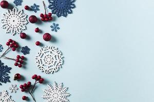 Weihnachtskarte Vorlage foto