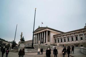 Wien, Österreich 2015 - Wahrzeichen des Volksgartens tagsüber foto
