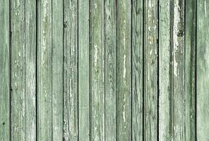 Muster Textur Hintergrund der alten Holzoberfläche mit grüner Farbe gemalt foto