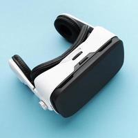 Draufsicht Virtual-Reality-Headset foto