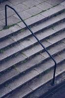 Treppenarchitektur in der Stadt Bilbao, Spanien foto