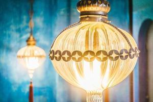 Laterne, Marokko Stil Hintergrund foto