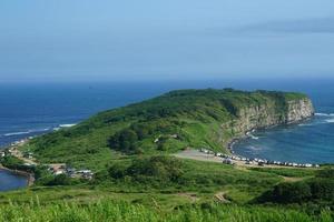 Seelandschaft mit Cape Wetlina. Wladiwostok foto