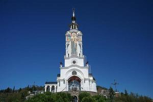 Anziehungskraft der Krim - der Kirchenleuchtturm von st. Nikolaus foto