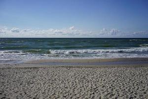 verlassene Seelandschaft auf der Ostsee foto