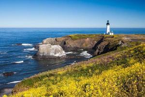 Yaquina Kopf Leuchtturm Oregon USA foto
