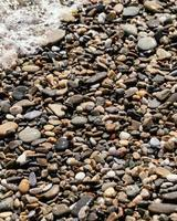 Steine am Strand foto