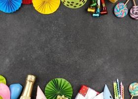 Partydekorationen Rahmen foto