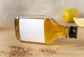 Tequila oder Mezcal Flaschenmodell foto