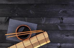 Hintergrund für Sushi foto