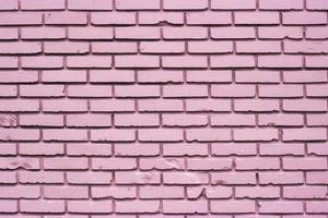 rosa Backsteinmauer foto