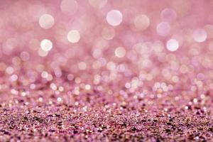 glänzender rosa Glitzerhintergrund foto