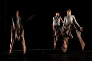 die abstrakte Bewegung des Tanzes foto