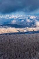 Krkonose Berge in der Tschechischen Republik foto