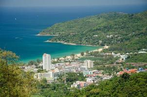 Ansicht Phuket Thailand foto