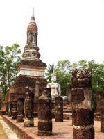 Sukhothai historischer Park, Thailand foto