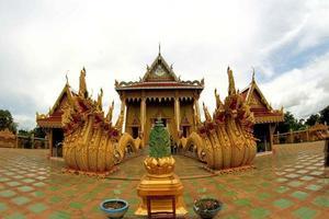 Wat Sri Bueng Brötchentempel, Srisaket, Thailand foto