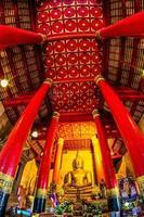 Wat Phra, die Kham Tempel in Nan, Thailand ändern foto