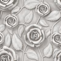 Hintergrund mit weißen Rosen foto