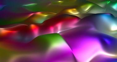 abstrakter trendiger flüssiger Hintergrund 3d rendern foto